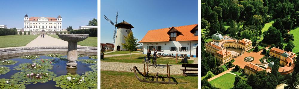 cyklodovolená na jižní Moravě - penzion régio