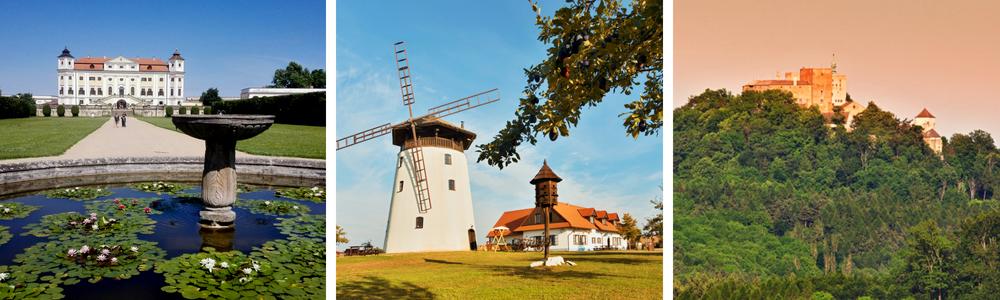 výlety na jižní Moravě