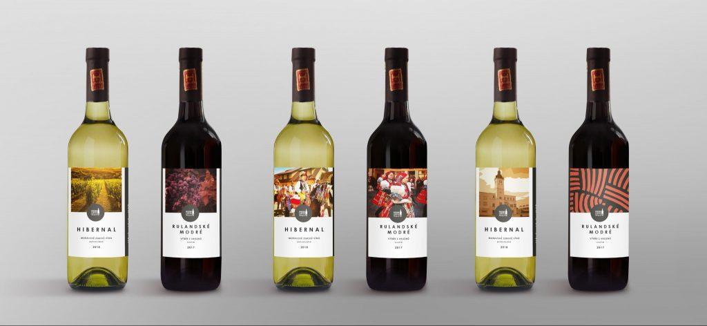 série vín cut široký pás